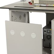 Access Panels for mobile laboratory benches