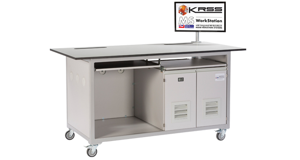 mobile laboratory bench for AB-Sciex API 6500 Qtrap