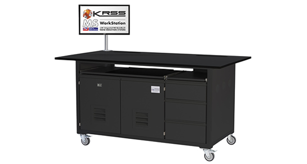 MSWS-06L-Black laboratory bench