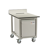 Single and Double Stack for mobile laboratory benches